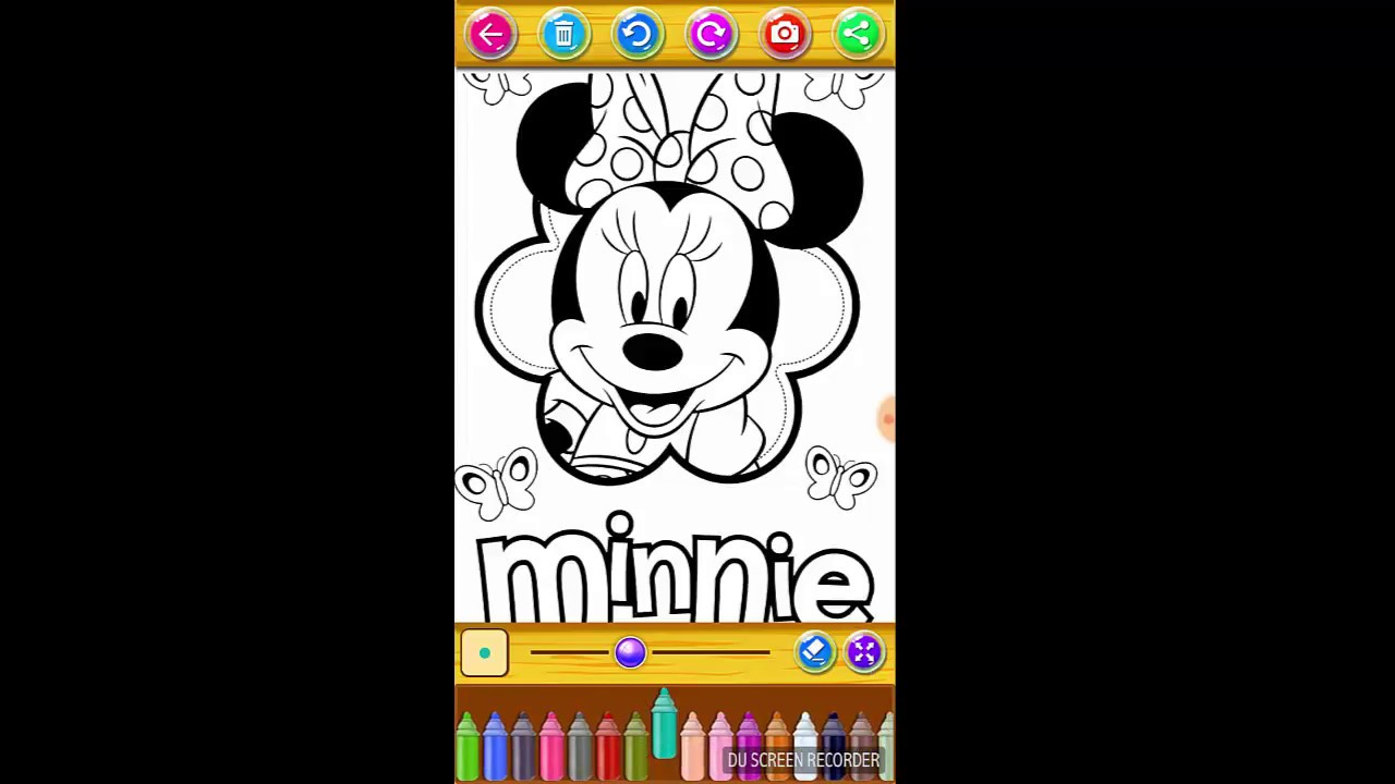 Minnie Mouse Coloring Book How To Color Mickey Mouse 2018 Hd Youtube