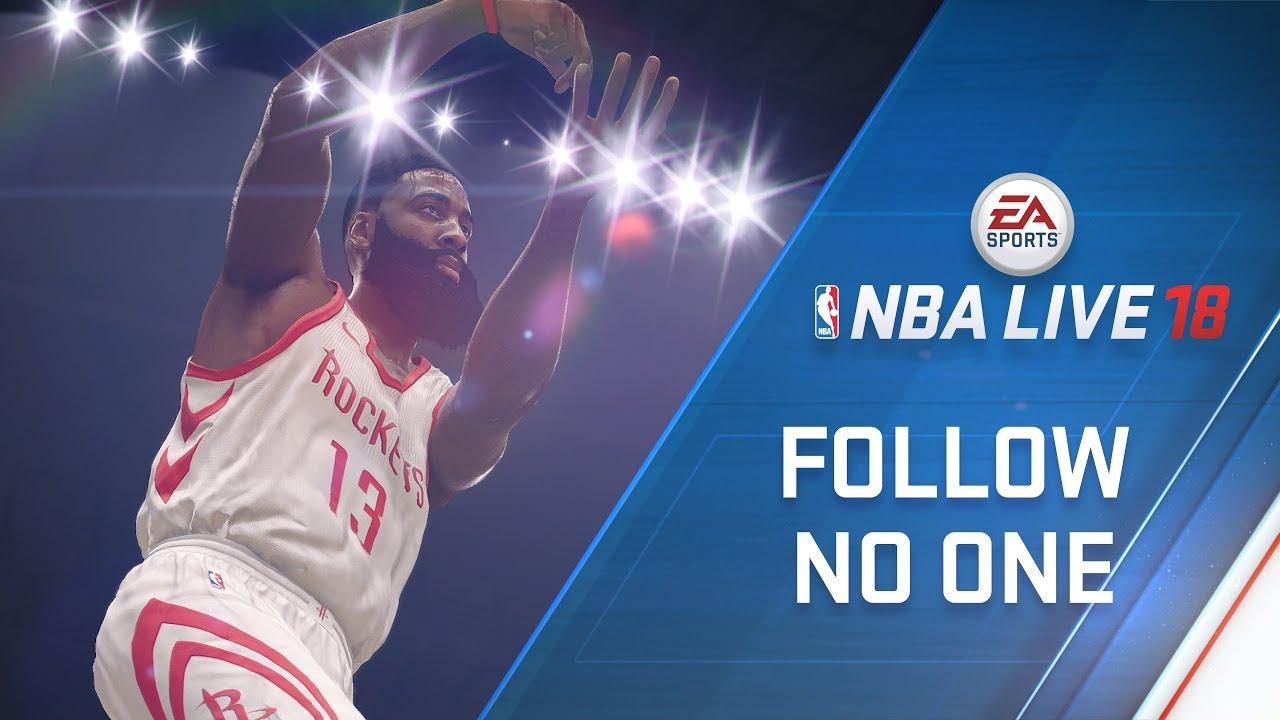 NBA LIVE 18 Cover Athlete James Harden