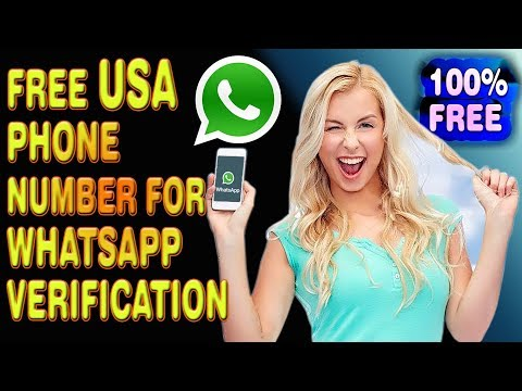 Free US Number For WhatsApp Verification Or Any Account Activation Working 100% 2019
