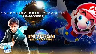 Universal Studios Epic Universe or Fantastic Worlds | New Orlando Theme Park Opening and Details