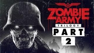 """Zombie Army Trilogy - Let's Play - Part 2 - [Ep.1: The Berlin Horror] - """"Cathedral Of Resurrection"""""""