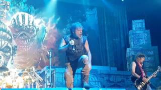 Iron Maiden - The Great Unknown - Antwerp 22.04.2017