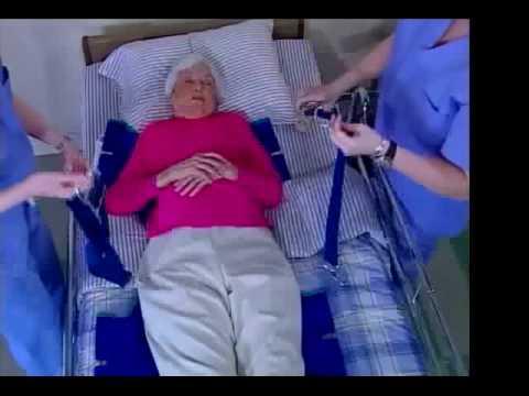 Standard Patient Lift Slings4 Youtube
