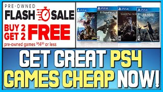 Buy 2 Get 2 Free $15 Or Less Ps4 Game Deals Now! - Awesome Ps4 Physical Games Sale