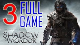 Middle Earth Shadow of Mordor Walkthrough Part 3 PS4 Gameplay lets play playthrough - No Commentary
