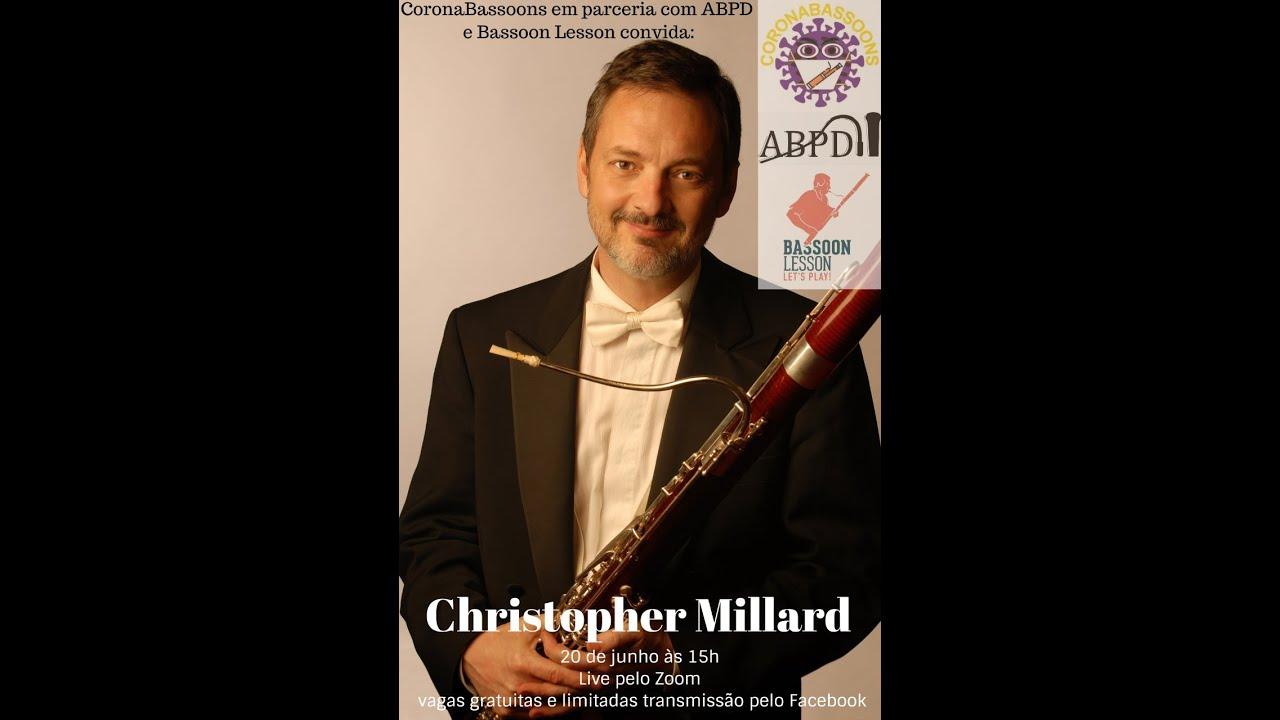 Live com o professor Christopher Millard