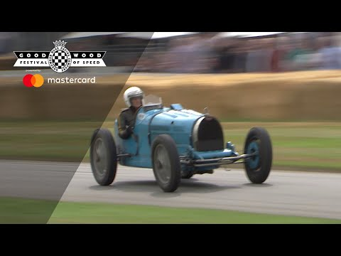Classic Bugatti Type 35B Hurled Up FOS Timed Shootout