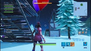 You can dance while using Fortnite bug balloons!!!