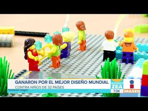 ¡Niños mexicanos ganan concurso de diseño con una maqueta! | Noticias con Francisco Zea