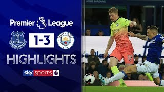 City switch on in 2nd half to see off Everton   Everton 1-3 Man City   Premier League Highlights