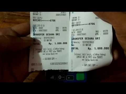 Tutorial Cara Cetak Ulang Struk Transaksi edc BRILink Ingenico move/2500