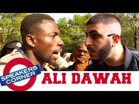 Ali Dawah vs African Christian | Speakers Corner