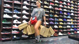 Saweetie Goes Shopping For Sneakers With CoolKicks.