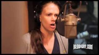 "Behind the Scenes: ""Anything Goes"" Recording with Sutton Foster, Joel Grey, Laura Osnes..."
