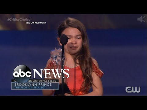 7yearold adorably wins Critics' Choice award for 'The Florida Project'