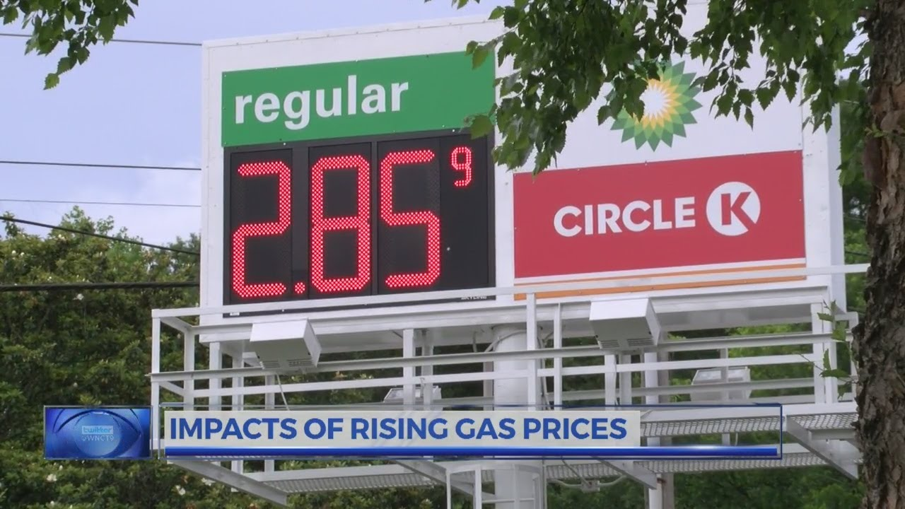 The wide ranging impacts of rising gas prices