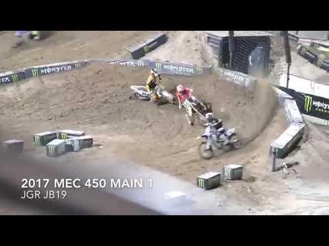 Justin bogle crash at monster energy cup
