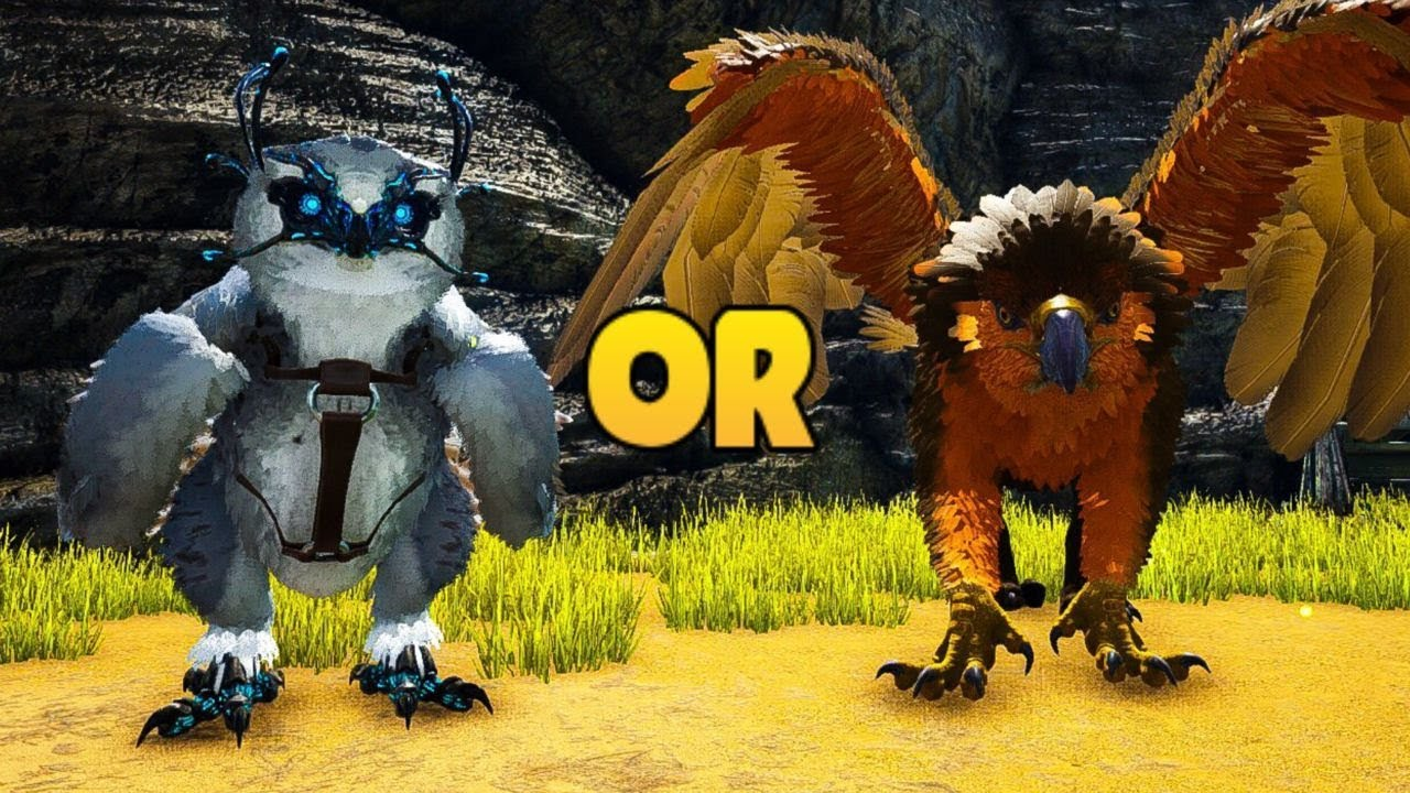 Snow Owl V S Griffin Which Is Better Ark Youtube So its best to skill 50/50 live stamina for a healing owl? snow owl v s griffin which is better ark