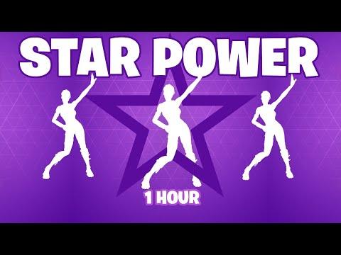 FORTNITE STAR POWER EMOTE [1 Hour]