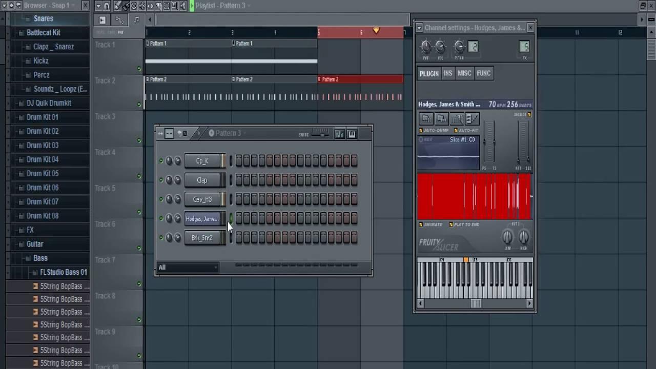 FL Studio 10 Sampling Hip Hop Beat Tutorial