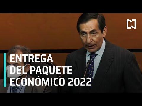 Entrega del paquete económico 2022