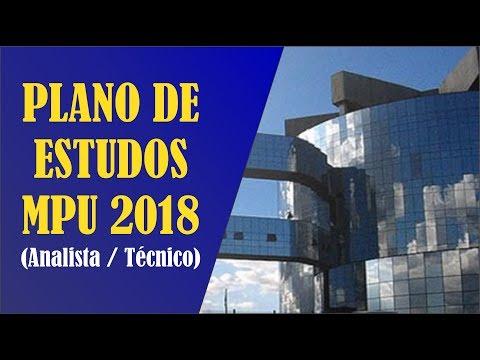 PLANO DE ESTUDOS MPU 2018 COMPLETO - Coaching para Concursos