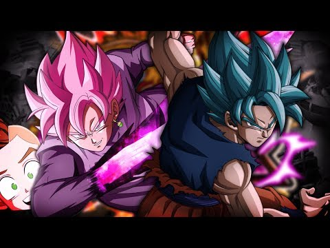 Wish me Luck Nano... Oh. Wait. LR Goku Black & Zamasu Summons!   Dragon Ball Z Dokkan Battle