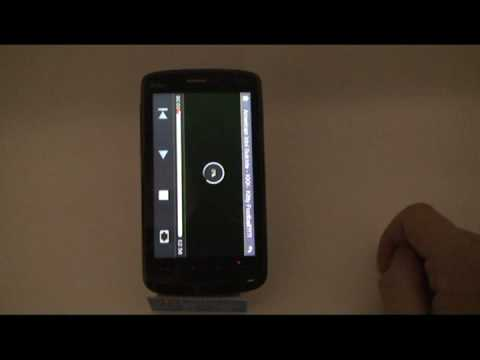 HTC Touch HD Opera, Youtubeplayer, Musikplayer