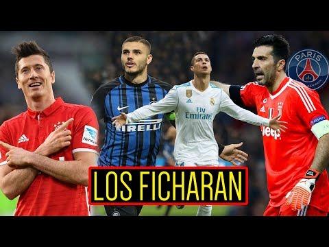 LEWANDOWSKI SE VA | BUFFON al PSG | ¿MADRE de CR7 CONFIRMA SALIDA? | FICHARAN a ICARDI