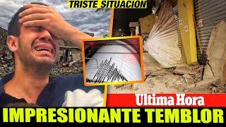 ➕ ULTIMA HORA HACE UNAS HORAS temblor se sintio en varias ciudades  ALERTA NACIONAL
