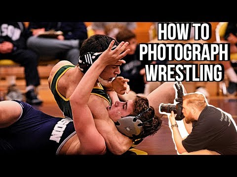 How To Photograph High School Wrestling