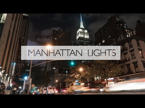 Manhattan Lights: A New York Time Lapse