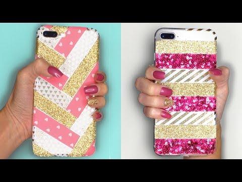 DIY Phone Case Using Washi / Craft Tape