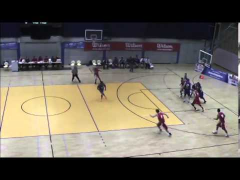 "6'9"" Lukas Meisner vs. ProB Schwelm Part 2"