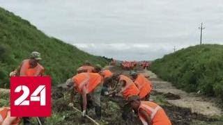 Овраги вместо дорог  в Приморье устраняют последствия паводка