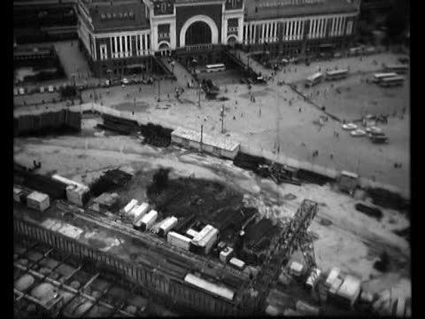 Строительство метро «Площадь Ленина»