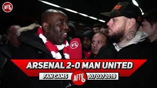 Arsenal 2-0 Man United | Aubameyang Showed Balls Of Steel To Take That Penalty!! (DT)