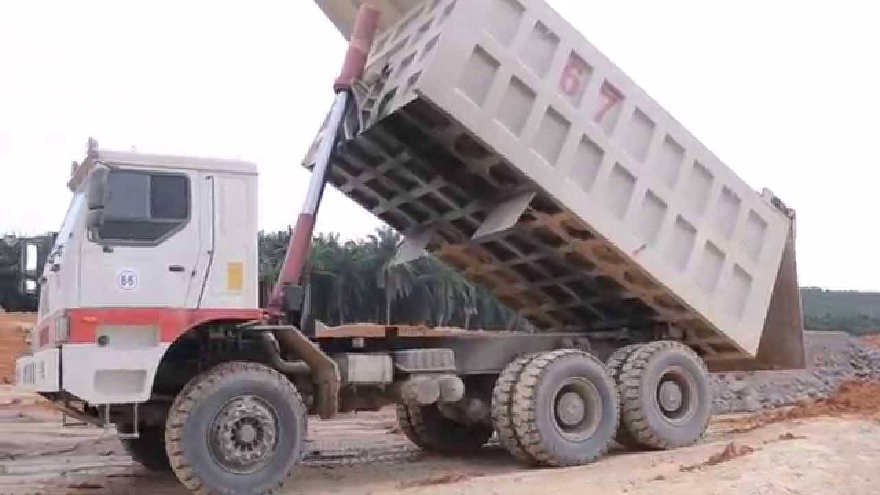 how to find dump truck work