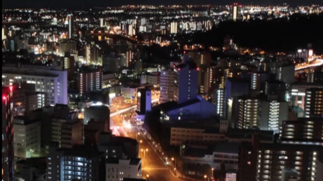 night view of miyagi prefjapan������������������� ss30 ���