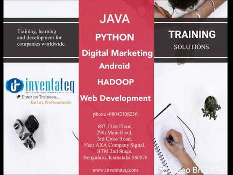 Inventateq - Best Software Training Institute In Bangalore With Placements