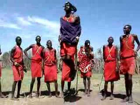 jumping masai youtube