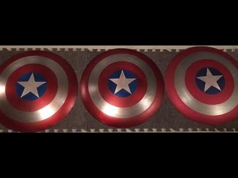 DIY Captain America Shield Build made easy!