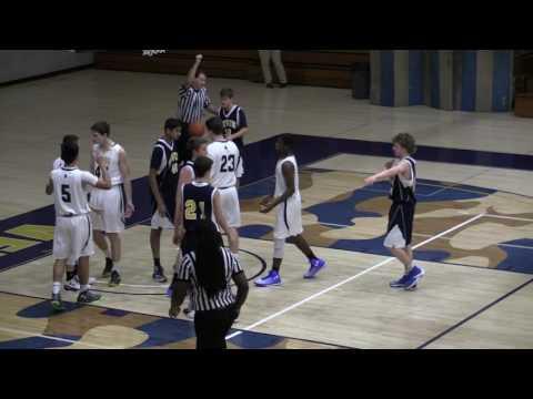 Valley Forge Military Academy JV Basketball vs Devon Prep 1.3.17