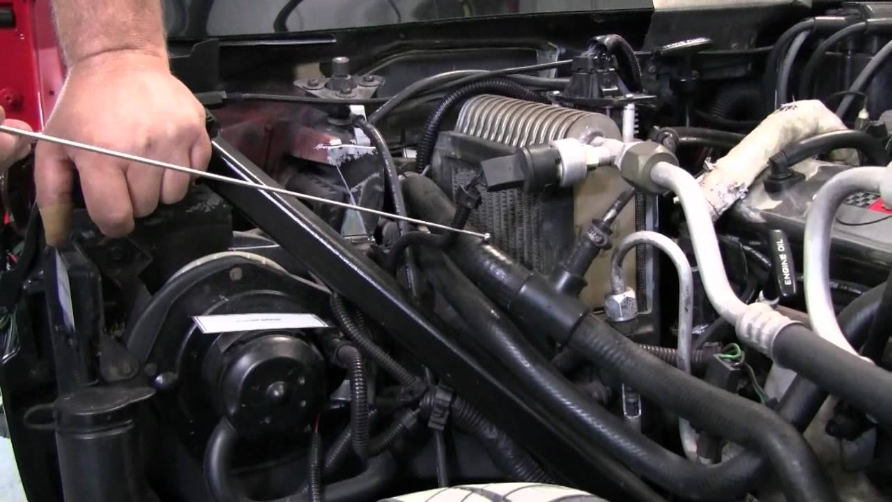c4 corvette cutaway coolant bleed hose youtube