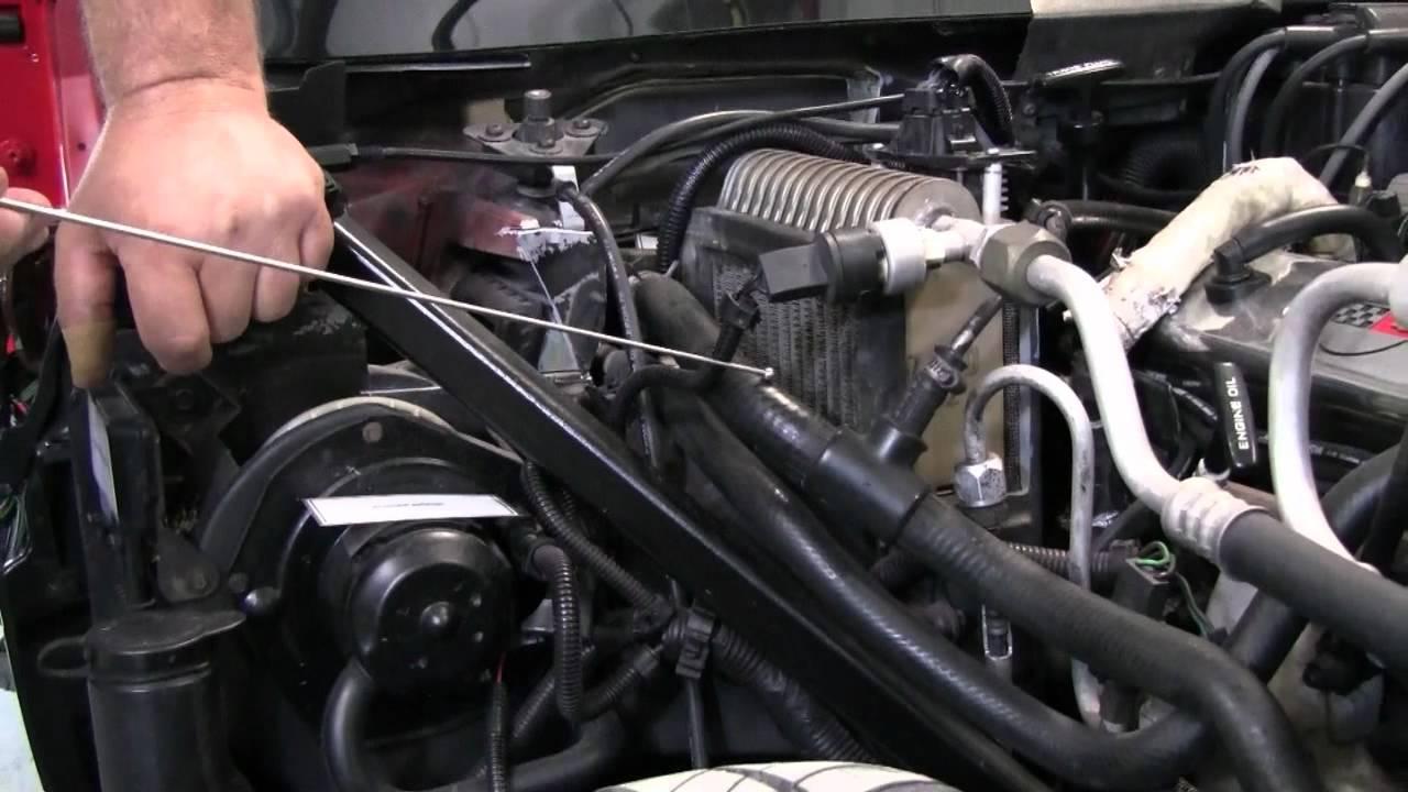 c4 corvette cutaway coolant bleed hose youtube rh youtube com 1984 corvette engine hoses diagram 1984 corvette engine specs [ 1280 x 720 Pixel ]