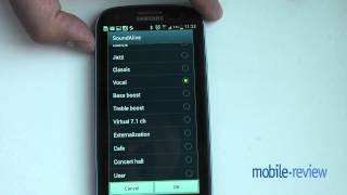 Samsung Galaxy S III. Музичний плеєр, а також радіо