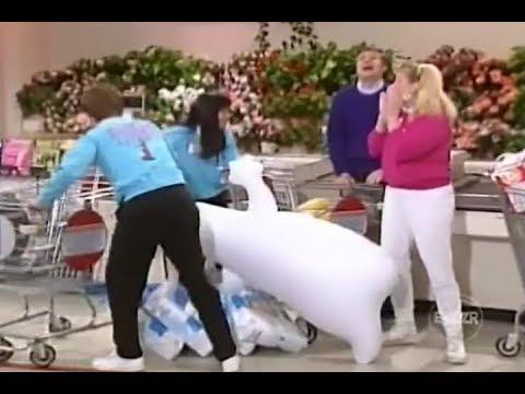 Supermarket Sweep (1991) | Sherry & Julie vs. Felecia & Todd vs. Bonnie & Bette