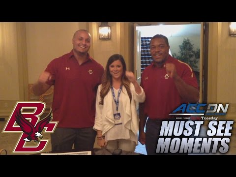 BC Players Sing Fight Song With ACCDN's Courtney Cox | ACC Must See Moment