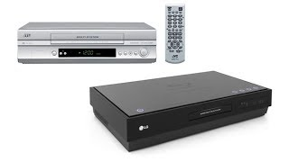 Multi-System VCR + LG HD SuperBlue Player