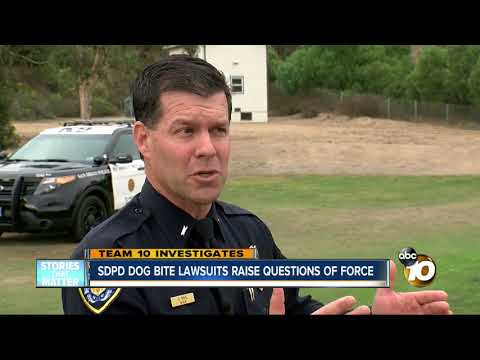 San Diego Police Department dog bite lawsuits raise questions of force